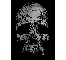 Faded Old-Skull Photographic Print