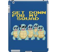 Squirtle Squad Goals iPad Case/Skin