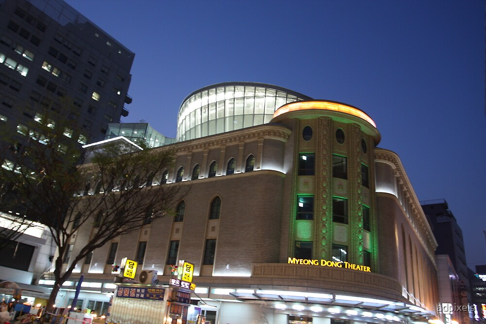 Seoul Korea - Myeong Dong Theatre by adpixels