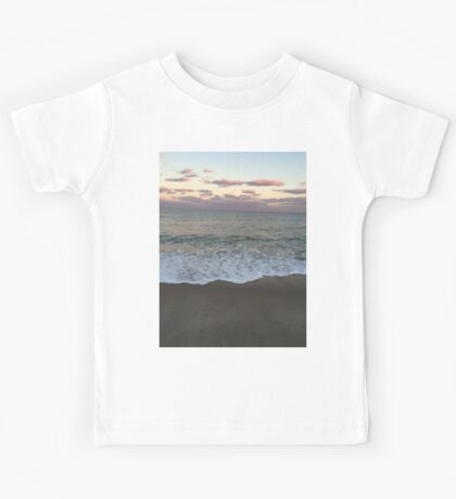 Beach at Sunset Kids Tee