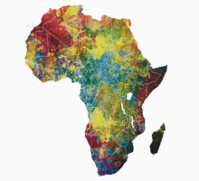 Africa map 3 Kids Clothes