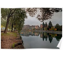 River Rhone View No 1 Poster