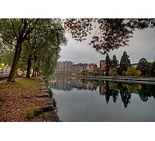 River Rhone View No 1 Photographic Print