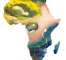 Africa Map 5 by JBJart