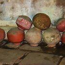 Water Pots, Ahmedabad, Gujurat, India by RIYAZ POCKETWALA