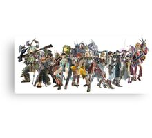 Soul Calibur Characters Canvas Print