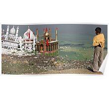 Festival Remnants, Balasinor, Gujurat, India Poster