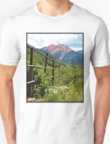 Fence At Ouray Unisex T-Shirt