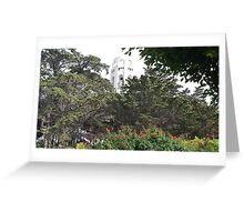 Coit Tower Greeting Card