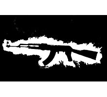 AK-47 Graffiti Photographic Print