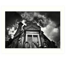 Mono Chrome  Art Print