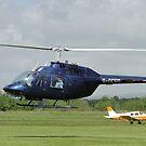 Bell Jet Ranger 206B by Barrie Woodward