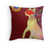 'ROMEO CAT'  Impetuous Fire, Ice and Desire. Throw Pillow
