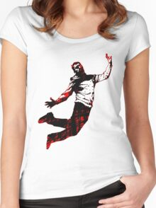 Reaching For The Stars Women's Fitted Scoop T-Shirt