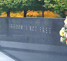 korean war memorial by Duncan Drury