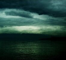 Dark calm sea 2 by ivanarezek