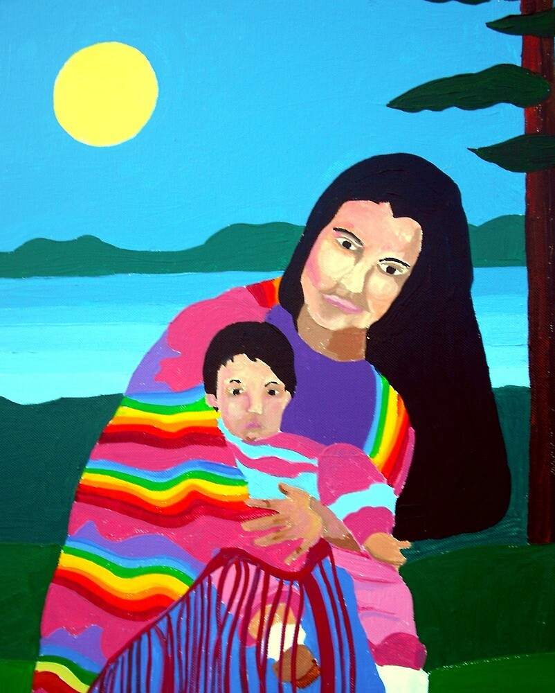 Mother and Child 7 by Jamie Winter-Schira