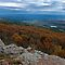 View of Petit Jean Valley from Mt. Magazine by Bonnie T.  Barry