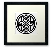 Seal of Rassilon  Framed Print