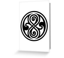 Seal of Rassilon  Greeting Card