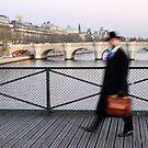 Mr Blur in Paris by Jean-Luc Rollier