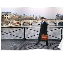 Mr Blur in Paris Poster