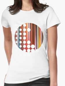 Circle Womens Fitted T-Shirt