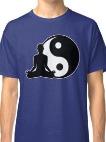 Ying and Yang Meditator Classic T-Shirt
