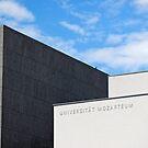 Modern Building of Mozart University, Salzburg, Austria   by Petr Svarc