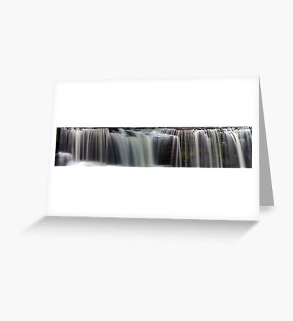 Upperville Falls - Panorama Greeting Card