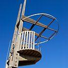 Wooden Lifeguard Tower, Barceloneta Beach (Spain)  by Petr Svarc