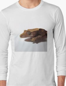 Crested Gecko Red Step Long Sleeve T-Shirt