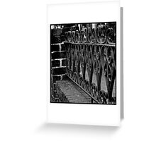 Love Recognizes - Black and White Image Art Greeting Card