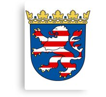 Hesse coat of arms Canvas Print