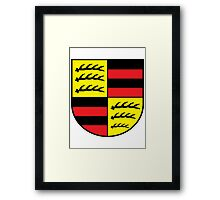 Hohenzollern coat of arms Framed Print