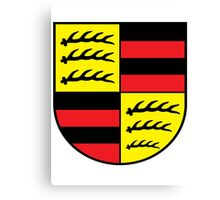 Hohenzollern coat of arms Canvas Print