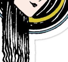 flowing Hair  Sticker