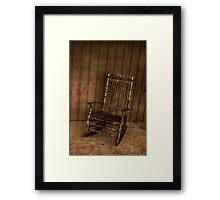 Rocker Framed Print