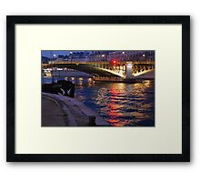 Paris - Alma. Framed Print