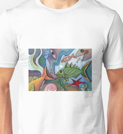 Fish abstract II Unisex T-Shirt