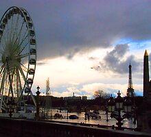 Paris - Place de la Concorde. by Jean-Luc Rollier