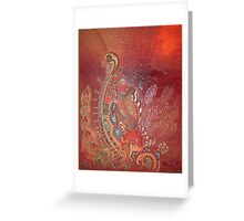 Eastern Fusion 2 Greeting Card