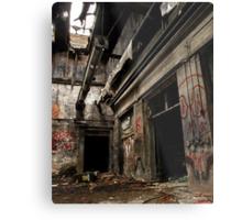 homeless shelter Metal Print