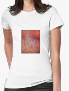 Eastern Fusion 2 Womens Fitted T-Shirt