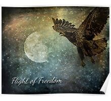 Flight Of Freedom - Image Art Poster