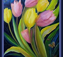 Tulips and insects by Noel78
