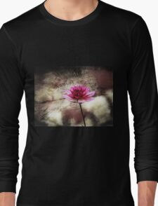 The Color Of Springtime Vintage Art Long Sleeve T-Shirt