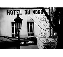 Paris - Hôtel du Nord. Photographic Print