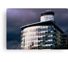 Salford Sky Over BBC Canvas Print