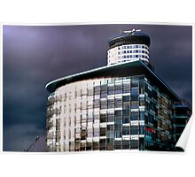 Salford Sky Over BBC Poster